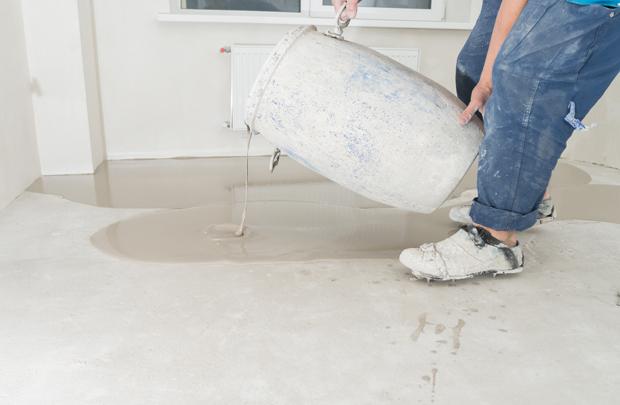 Как отремонтировать бетонный пол