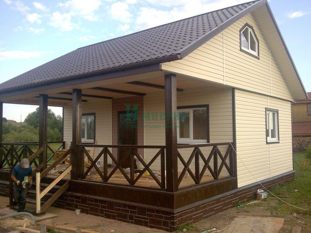 Каркасный дом — дешево и удобно