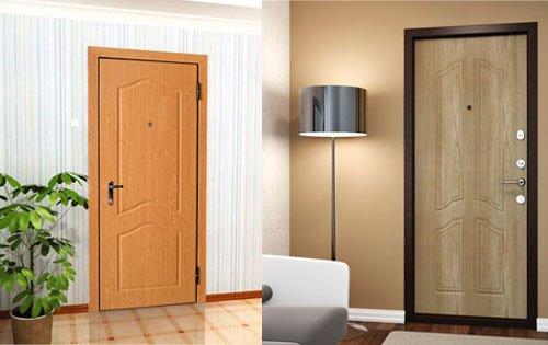 качество металлических дверей