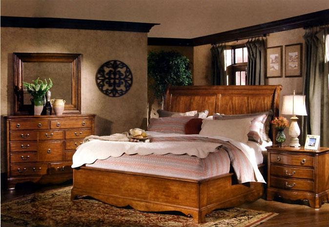 Выбор деревянной мебели для спальни