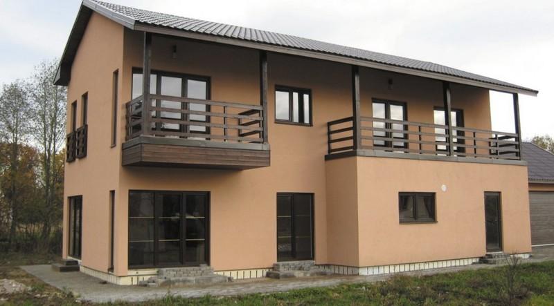 Каркасно-щитовые дома. Быстрота возведения и низкая стоимость