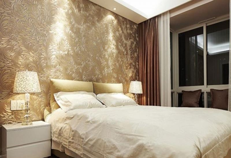Обои для спальной комнаты – советы по выбору