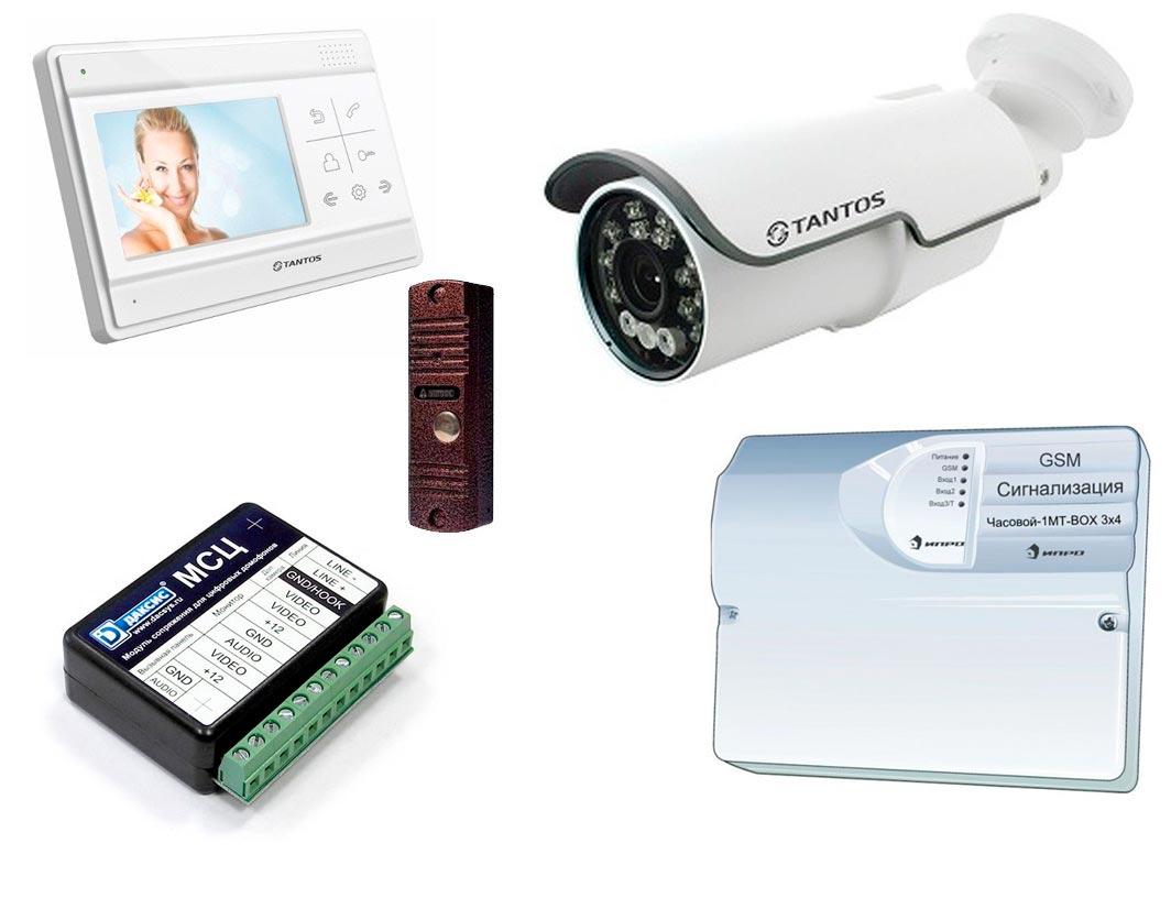 Купить охранную GSM сигнализацию Tantos, Optimus, ATIS, Радиан и др. в Челябинске
