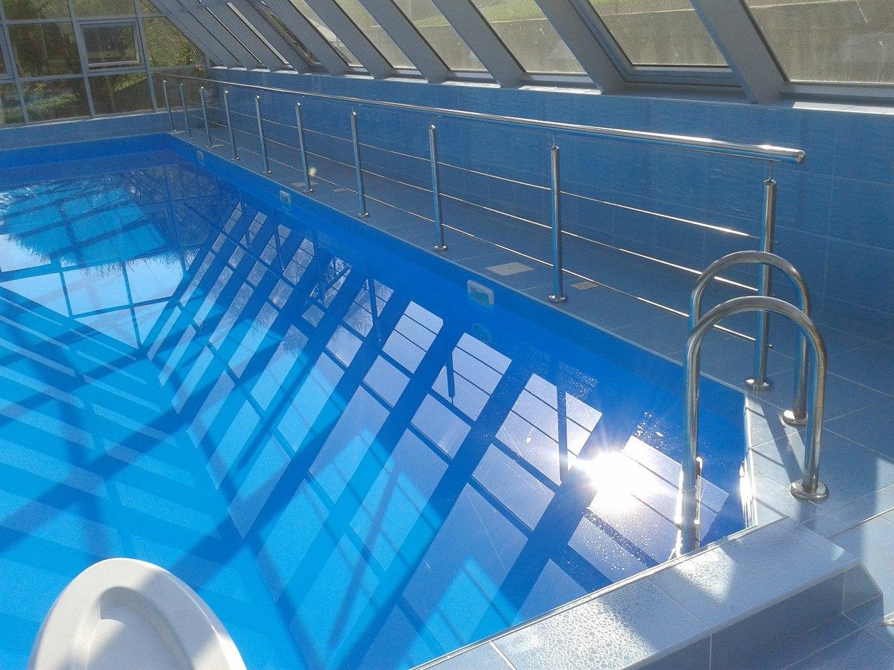 Поручни для бассейна: инструкция по монтажу