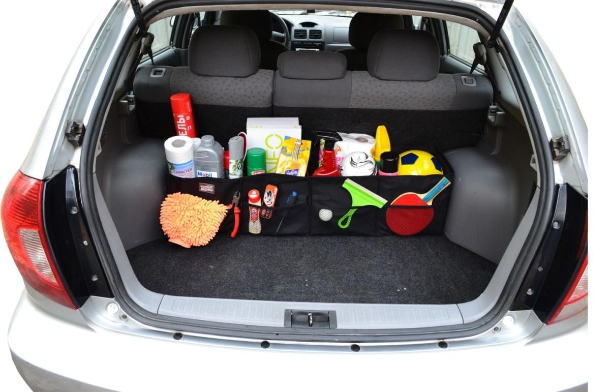 Типы органайзеров для багажника автомобиля