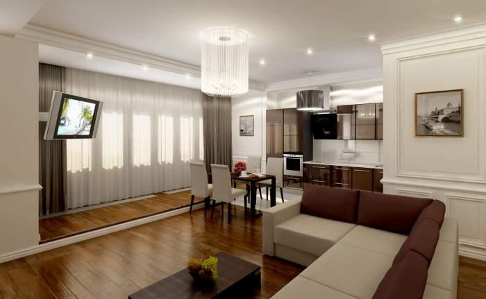 Особенности дизайнерского ремонта квартир площадью 100 кв м