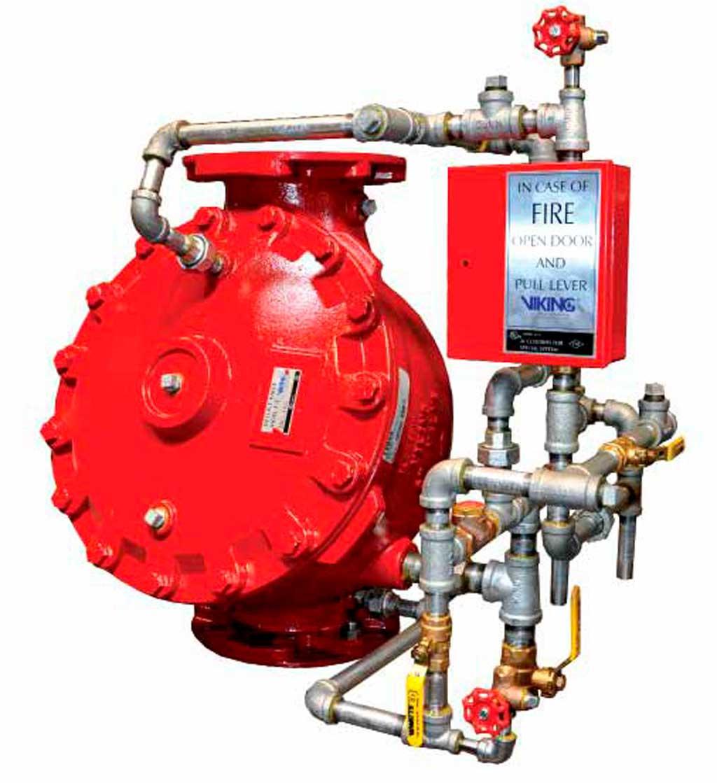 Системы газового пожаротушения Minimax