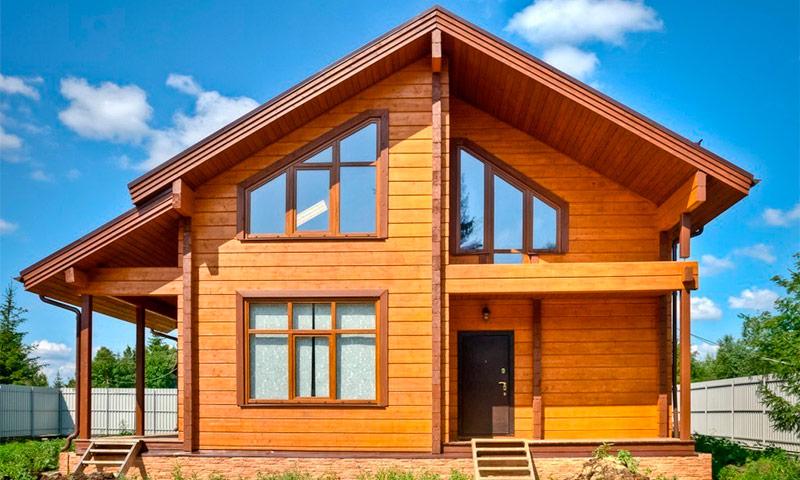 Строительство дома из дерева