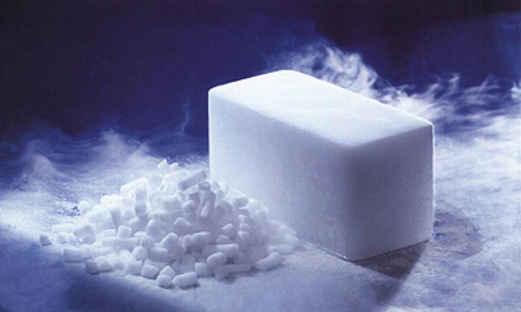 Техника безопасности при использовании сухого льда